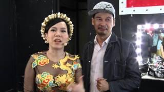 """Vietnam's Got Talent 2016 - BTS Bán Kết 4 - Tiết Cương """"hộ tống"""" Việt Hương đến sân khấu Got Talent"""
