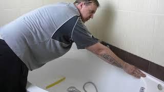Акриловые бордюры для ванной ! Решение всех проблем с протечками!!!! И просто очень красиво!!!
