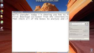 How to fix the Win32k.sys BSOD(Registry method using CCleaner)