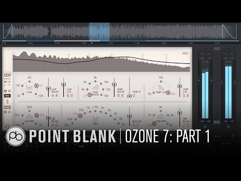 iZotope Ozone 7 Tutorial: Mastering Dance Music Part 1