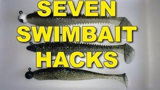 7 Proven Swimbait Hacks in 7 Minutes   Bass Fishing