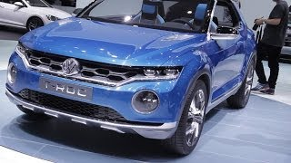 Volkswagen T-ROC - Salon auto Genève 2014