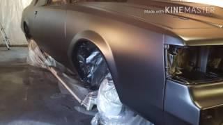 G Body Buick Regal build paint respray.
