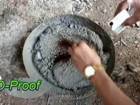 waterproofing chemical mixing, Perma plast-o-proof