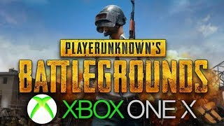 PUBG 4K XBOX ONE X Gameplay - First Look (PlayerUnknown's Battlegrounds)