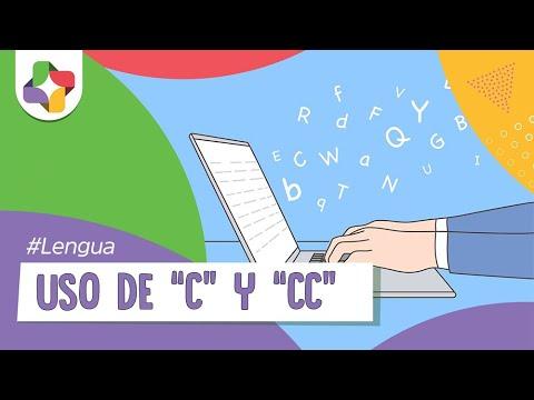 Uso de la C y la CC - Reglas gramaticales - Educatina