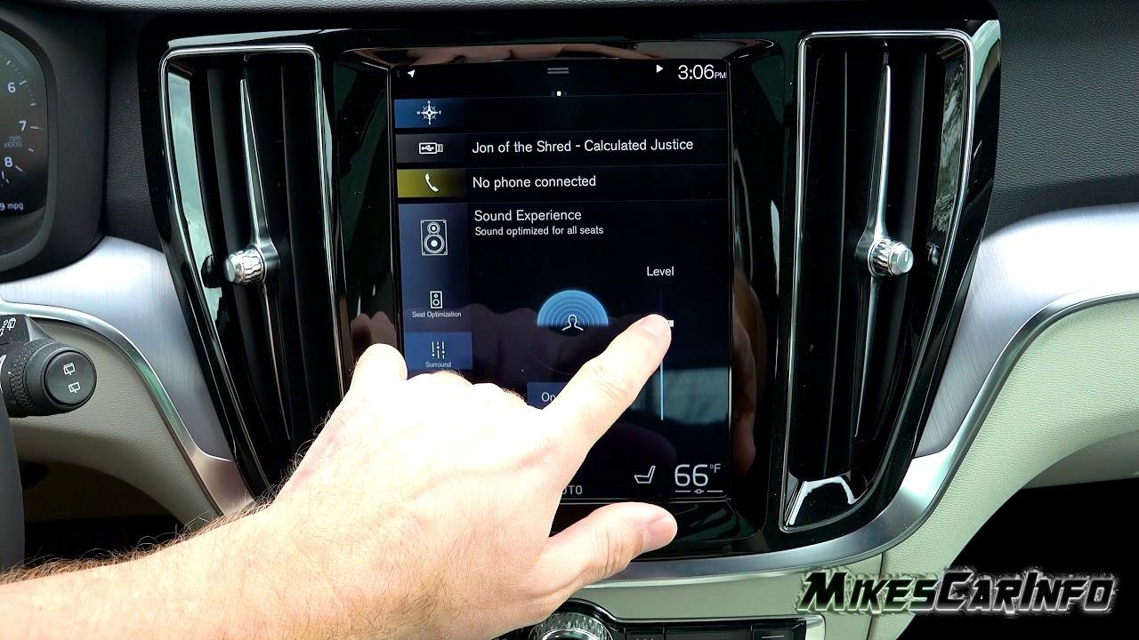 New Volvo Harman Kardon Sound System Test