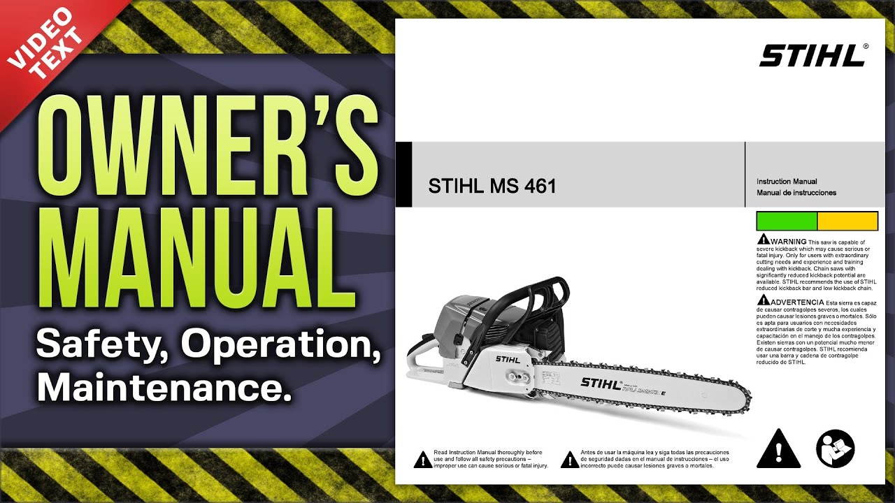 32 Stihl Ms 460 Parts Diagram