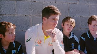 It's Your Game - Lauderdale Primary School & Tim Paine