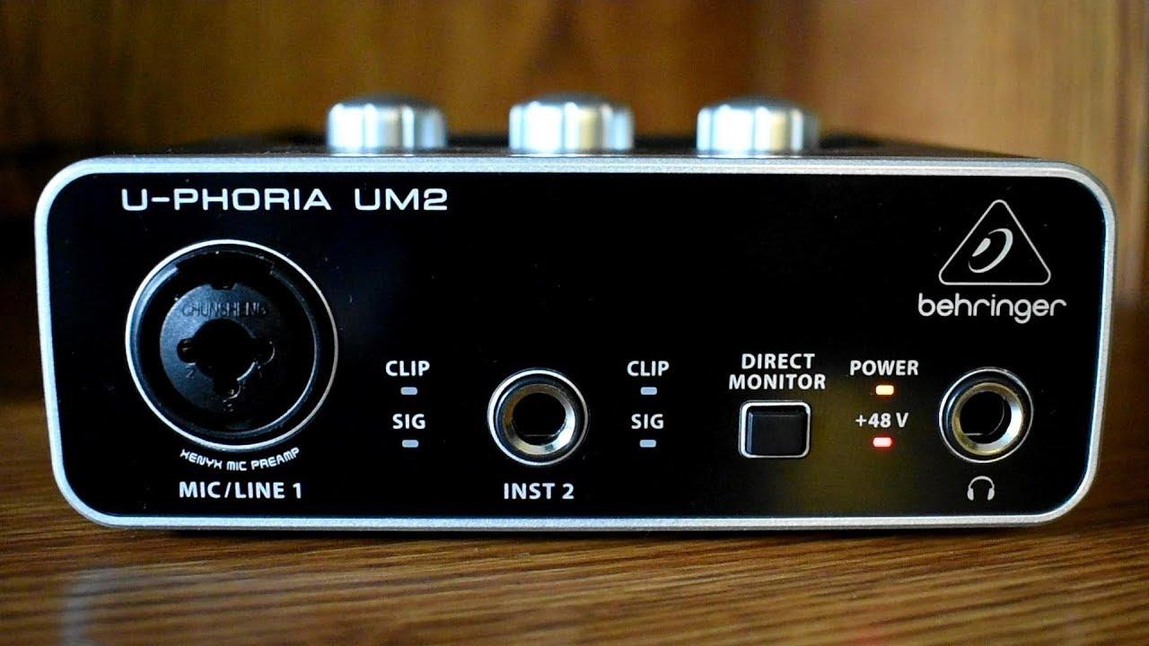 By Scientific Process umc22 Behringer Audio Interface