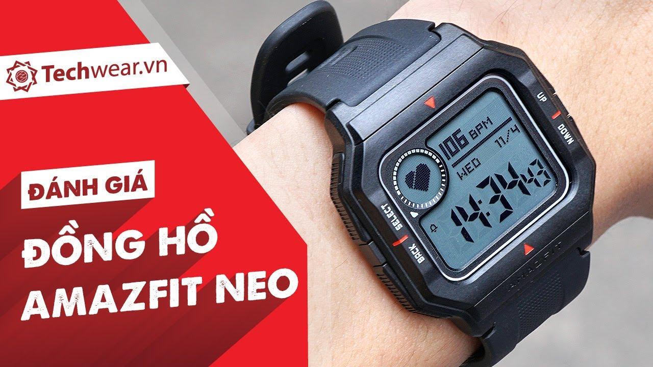 Đánh giá AMAZFIT NEO -  SIÊU RẺ chỉ 700K, đo sức khoẻ cơ bản với kiểu dáng đồng hồ điện tử Casio