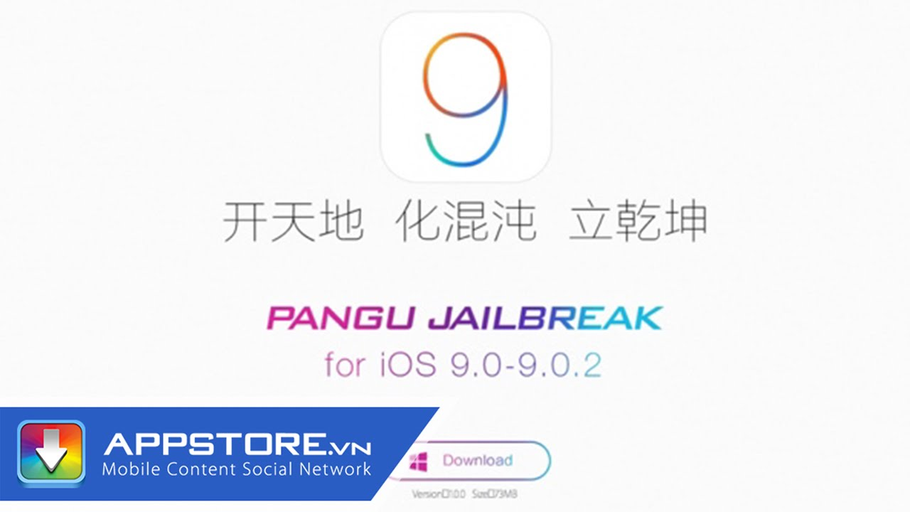 Hướng dẫn jailbreak iOS 9.0 – 9.0.2 trên Windows bằng Pangu9