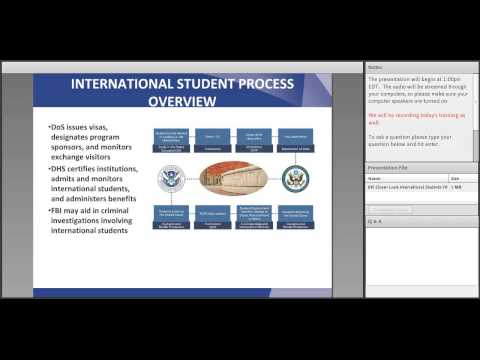 Incorporating International Students Into Emergency Management and Planning Webinar