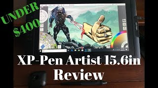 XP-Pen Artist 15.6in Review. Best drawing tablet under $400?