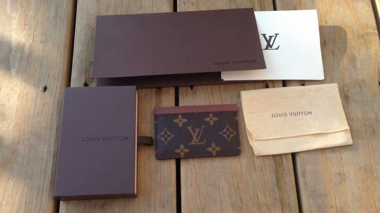 Louis vuitton monogram card holder wallet review 1080p youtube louis vuitton monogram card holder wallet review 1080p reheart Image collections