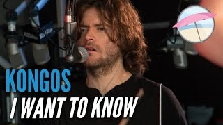Kongos - I Want To Know (Live at the Edge)