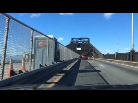 Lane Changes On The Pulaski Skyway