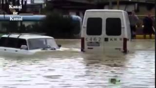 Сильный ливень затопил улицы Краснодара 13 06 2014