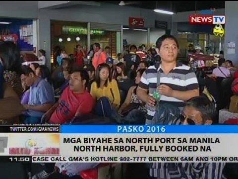 Mga biyahe sa North Port sa Manila, North Harbor, fully booked na