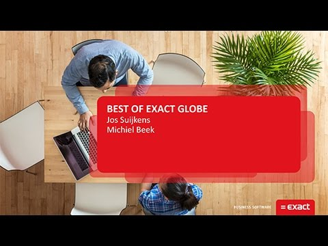 exact globe Definition of exact in the as well as the business solutions unit for its traditional software offerings such as exact globe next, exact synergy enterprise.