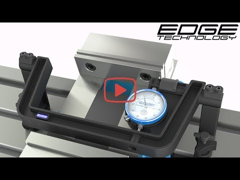 Vise Square by Edge Technology - Indicate , align or tram a vise to manual or CNC milling machine