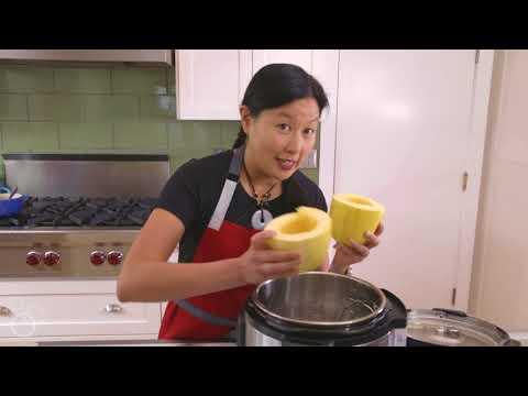 Instant Pot (Pressure Cooker) Spaghetti Squash