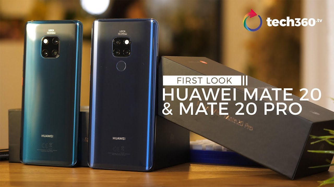 Huawei Mate 20 and Mate 20 Pro: Our early impressions