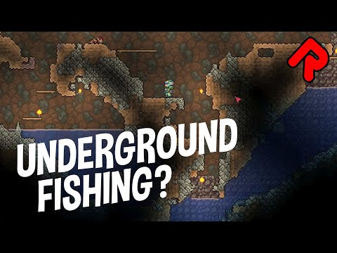 Angler's Underground Fishing Quest! | Let's Play Terraria PC Ep 5