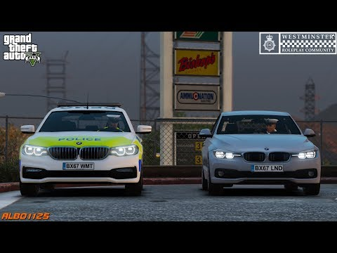 GTA5 Roleplay (Police) - ANPR Catches Driver From The Future - Westminster RPC E1