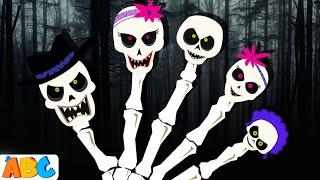 All Babies Channel - Finger Family   Skeleton Family   Halloween Finger Family Song