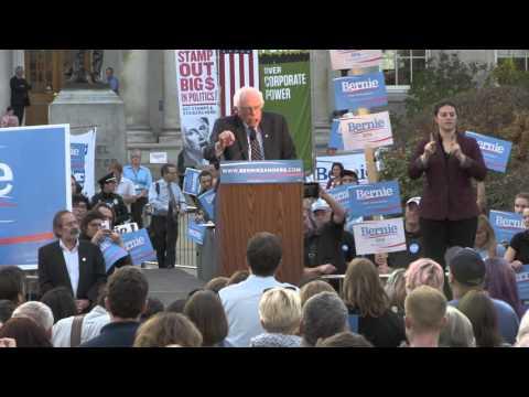 Bernie Sanders New Hampshire Primary Speech