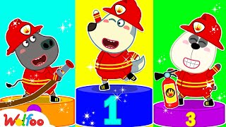 Wolfoo, Which Firefighter Is the Best? - Wolfoo's Super Firefighter Rescue Team   Wolfoo Channel