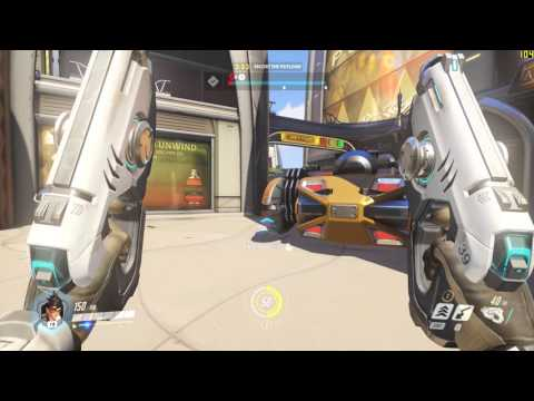 Overwatch Gameplay PC|1080p|60fps Max Settings