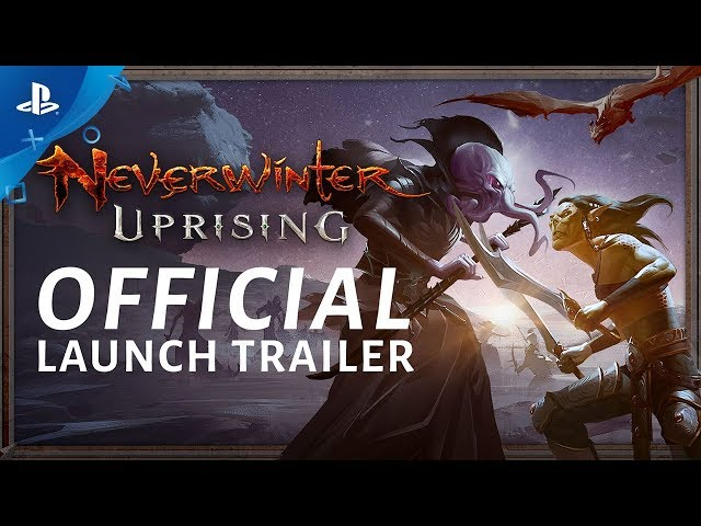 Neverwinter: Uprising - Official Launch Trailer | PS4