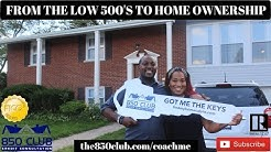 From The Low 500's FICO Credit Score To Home Ownership - My First Time Buying,Monitoring Services
