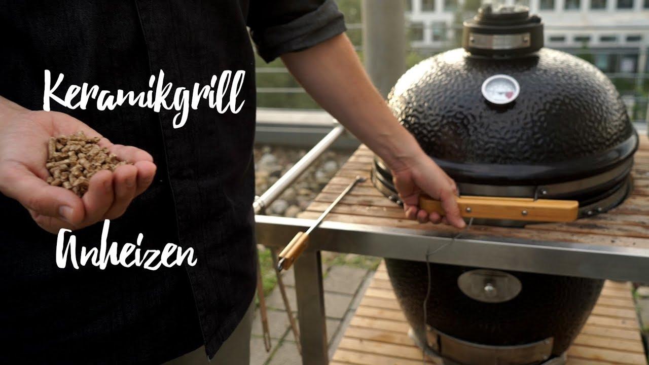 Keramik Holzkohlegrill Test : Keramikgrill anheizen so geht das gourmondo food studio youtube