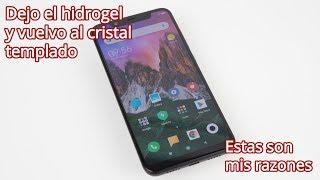 Hidrogel vs Cristal Templado: Mis razones para volver al cristal templado