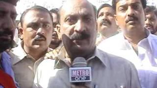 Metro1 Fsd 27 10 11 Protest 4 Fasco Privatization Report Dr  Najeeb Cheema 4Net