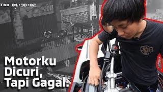 MALING MOTOR MASUK RUMAH!