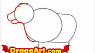 How to draw an ox, step by step