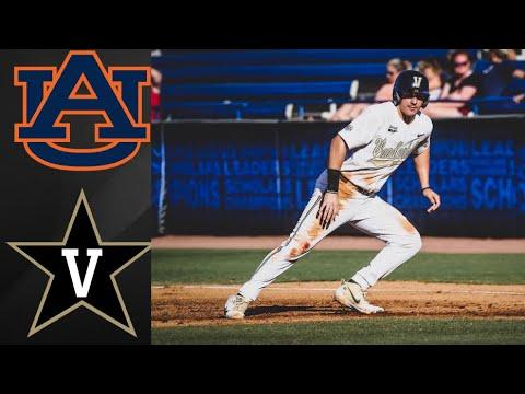 Auburn Vs Vanderbilt SEC Tournament 2nd Round | College Baseball Highlights