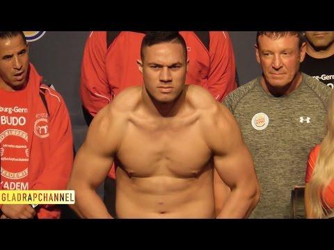 Weigh In - Joseph Parker vs Alexander Dimitrenko
