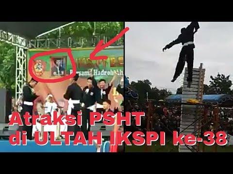 ULTAH IKSPI ke-38 Di isi acara Atraksi PSHT.