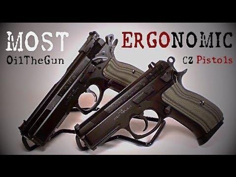 CZ Pistols - Most Ergonomic Handgun