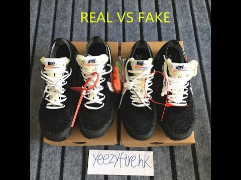 REAL VS FAKE NIKE AIR VAPORMAX