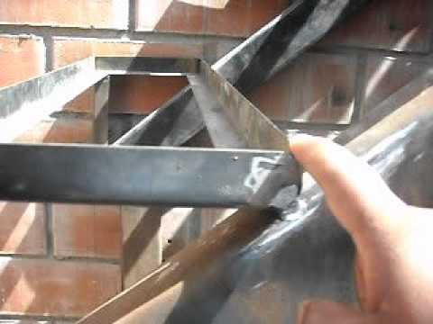 Movie 1 youtube for Como construir una escalera de hierro y madera