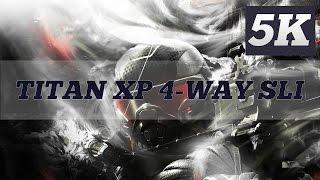 CRYSIS 3 5K PC GAMEPLAY | CRYSIS 3 JUNGLE LEVEL | TITAN X PASCAL 4 WAY SLI | 6950X | ThirtyIR