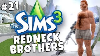 Sims 3 - Redneck Brothers #21 - Into the Future