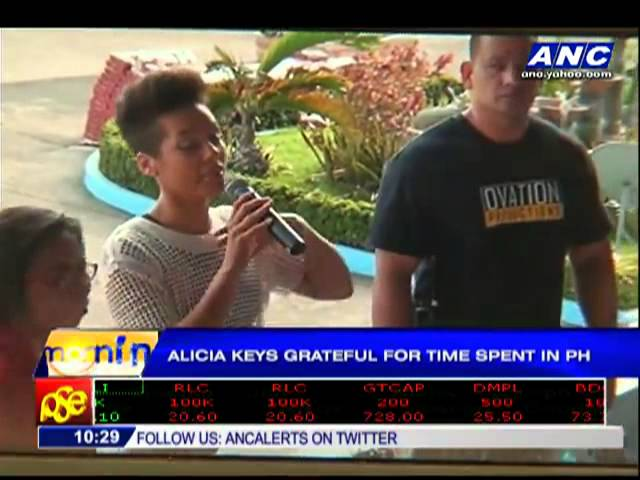 Alicia Keys grateful for time spent in Philippines