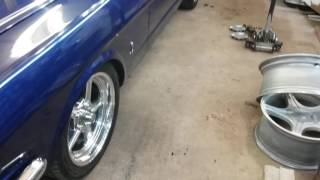 1965 Mustang: New wheels are on!